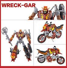 Transformers Platinum Edition PLANET OF JUNK Autobot WRECK-GAR HOT ROD JUNKION