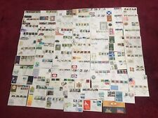 A bundle of 132 stamps