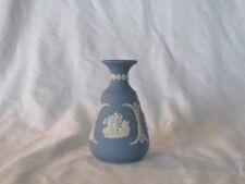 """Wedgwood """"Jasper"""" Small Vase Light Blue"""