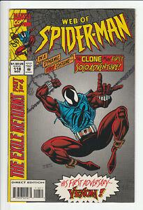 Web of Spider-Man #118 - 1st Scarlet Spider (Ben Reilly) Marvel 1994 High-Grade