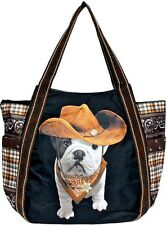 Sac Shopping Femme Teo Jasmin Bag Fourre-tout Grand Teo Cow-boy Noir