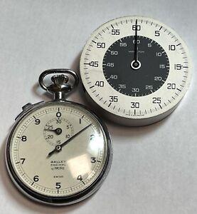 Gallet Racine watch timer & Hamilton Heuer 7710 movement