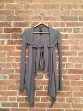 Rick Owens Sphinx Women's Wrap Sweater, Mocha No Size
