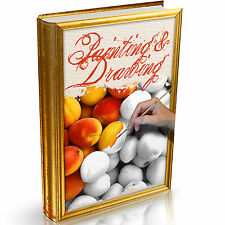 152 Painting Drawing & Sketching Books on DVD Oils Perspective Portrait Pencil
