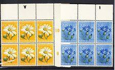 Nederland Zomerzegels 1952 in postfrisse blokken van 6 met randstukken waarbij