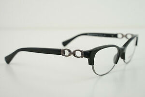 COACH HC 5063 Kitty 5269 Black Dark Silver 51-16-135 Eyeglasses