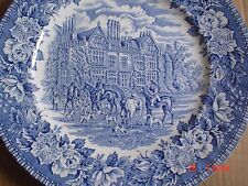 Aynsley & Co Ltd Blue And White Salad Or Breakfast Plate ENGLANDS HERITAGE