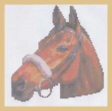 Red Rum Counted Cross Stitch Kit  8 x 10 ins