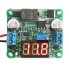 DEOK DC 12V Buck Boost Converter Adjustable Voltage Stabilizer Step Up Step Down