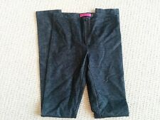 Alice and Olivia dark denim ponte leggings size 0 XS EUC