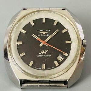 Longines Ultrachron Automatic Date Vintage Men's 1970 wl26715