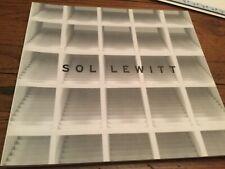 SOL LEWITT STRUCTURES 1962-2003 PACEWILDENSTEIN 2004 EXHIBITION CATALOG art book
