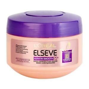 LOreal Paris Elseve Keratin Smooth Deep Perfecting Mask Treatment 72H 200 ml.