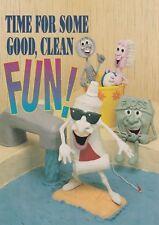 "*Humor Postcard--AD--""Time For Some Good, Clean Fun!"" /See Desc,/ (U2-444)"