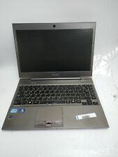 "Toshiba Portege Z830 13.3"" computadora portátil 2nd Gen Core i5 4GB Ram Sin Disco Duro L76"
