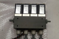 Telosense TGM-20   A 212-01.2  Check Burkert Valves   SET OF 4 WITH CABLE