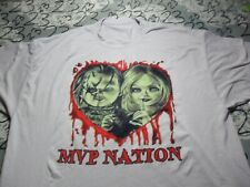 2XL MVP Nation Chucky and Tiffany T Shirt