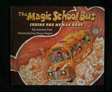 Magic School Bus Inside the Human Body Scholastic Joanna Cole Bruce Degen signd