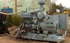 CAT 250KVA 200KW Generator GenSet 208/120 volt 319HP 1800rpm D343A 6 cylinder
