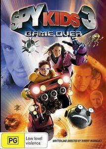 Spy Kids 3D - Game Over (DVD, 2011) Region 4 - NEW+SEALED