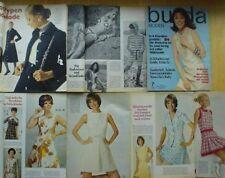 Burda Moden 07/1970 knielange KLEIDER UMSTANDSMODE HÄKELN Bikinis retro 70er