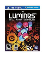 BRAND NEW & SEALED-  Lumines: Electronic Symphony game - PS Vita