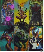WildCats Painted Chromium Cards Set (Image Comics)