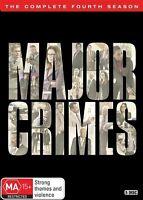 Major Crimes Complete Fourth Season 4 Four DVD NEW Region 4