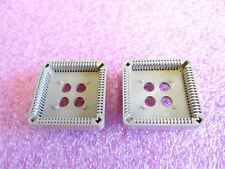 2 Stück IC-Fassung PLCC68 68-polig von AMP zum Löten