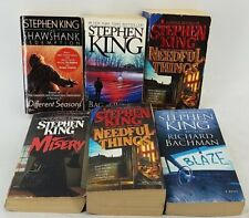 Assorted Lot of Stephen King Paperback Books
