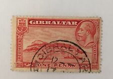 Gibraltar Sg 110 Perf 13 1/2 Cat £7,50 F/aU