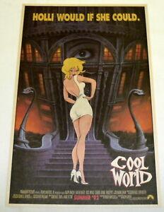 1992 movie advance ad page ~ Ralph Bakshi's COOL WORLD