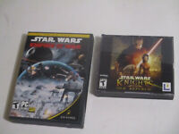 Star Wars Knights of the Old Republic (PC, 2003)  & Star Wars EMPIRE AT WAR