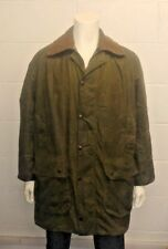 Vintage 1980s Barbour BORDER Double Crest Wax Cotton Jacket - Made in England