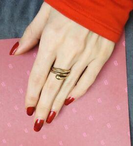 Gold Ring 333 ohne Stein Schlange