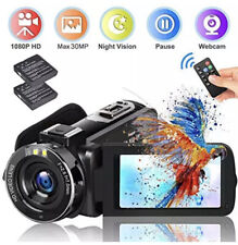 Video Camera for YouTube, FHD 1080P 30MP Digital Vlogging Cam