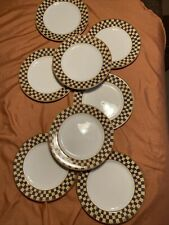 """Set of 8 Block Country Orchard Dinner Plates 10 5/8"""" EIGHT PLATES Deal For You"""