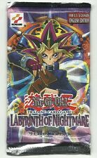 YuGiOh! Labyrinth of Nightmare Booster Pack Factory Sealed Yu-Gi-Oh Out of Print