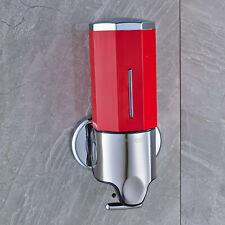Soap Dispenser Shampoo Wall Mount Pumps Red Shower Dispenser Kitchen Bathroom