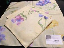 Estate lifetime Soil Release Visa By Miller Dinner Napkins Honet's Garden 4pc*