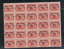 Newfoundland #C3 Very Fine Mint Rare Full Sheet Of 25