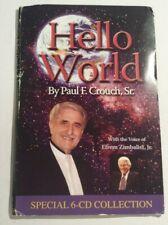 Hello World by Paul Crouch Sr. 6-CD AUDIO BOOK 2008 Trinity Christian TBN