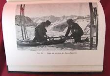 1935 VINTAGE FRENCH LIFE OF SKIER SKI BOOK BY D.SANDOZ