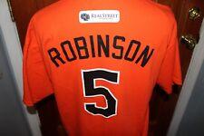 BROOKS ROBINSON No. 5 BALTIMORE ORIOLES SGA T-Shirt XL