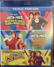 Austin Powers 3 Disc Collection Triple Feature Blu-Ray Brand New!