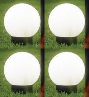 4 x LED Garten XL Solarlampe Solarleuchte Solarkugel Solar Lampe Leuchte Kugel