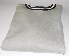 L.O.G.G. H&M Men's Fine Knit Cotton Pullover Sweater Light Gray Melange M NWT
