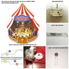 Mr Christmas Worlds Fair Big Top Circus #79881   REPLACEMENT PART MOTOR KIT