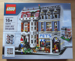 LEGO 10218 Pet Shop NEUF -- Modular Creator Expert City Ville Moc Animalerie