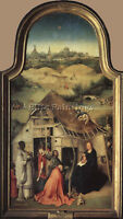 ADORATION OF THE MAGI2  ARTIST PAINTING HANDMADE OIL CANVAS REPRO WALL ART DECO